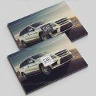 Mẫu thiết kế catalogue ô tô