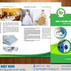 Thiết kế Catalog 12trang Công ty Cổ phần Giặt là Bình Minh Xanh