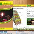 Thiết kế catalog nến sáp ong Nguyên Khang